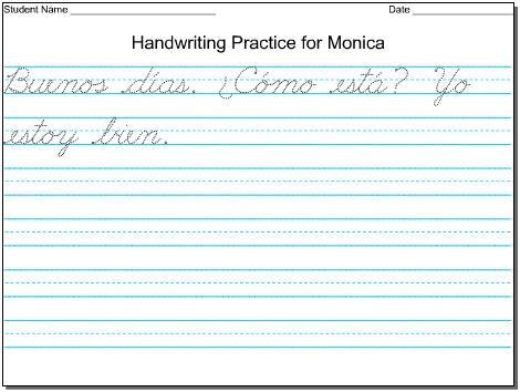 Mommy Maestra Free DIY Handwriting Worksheets