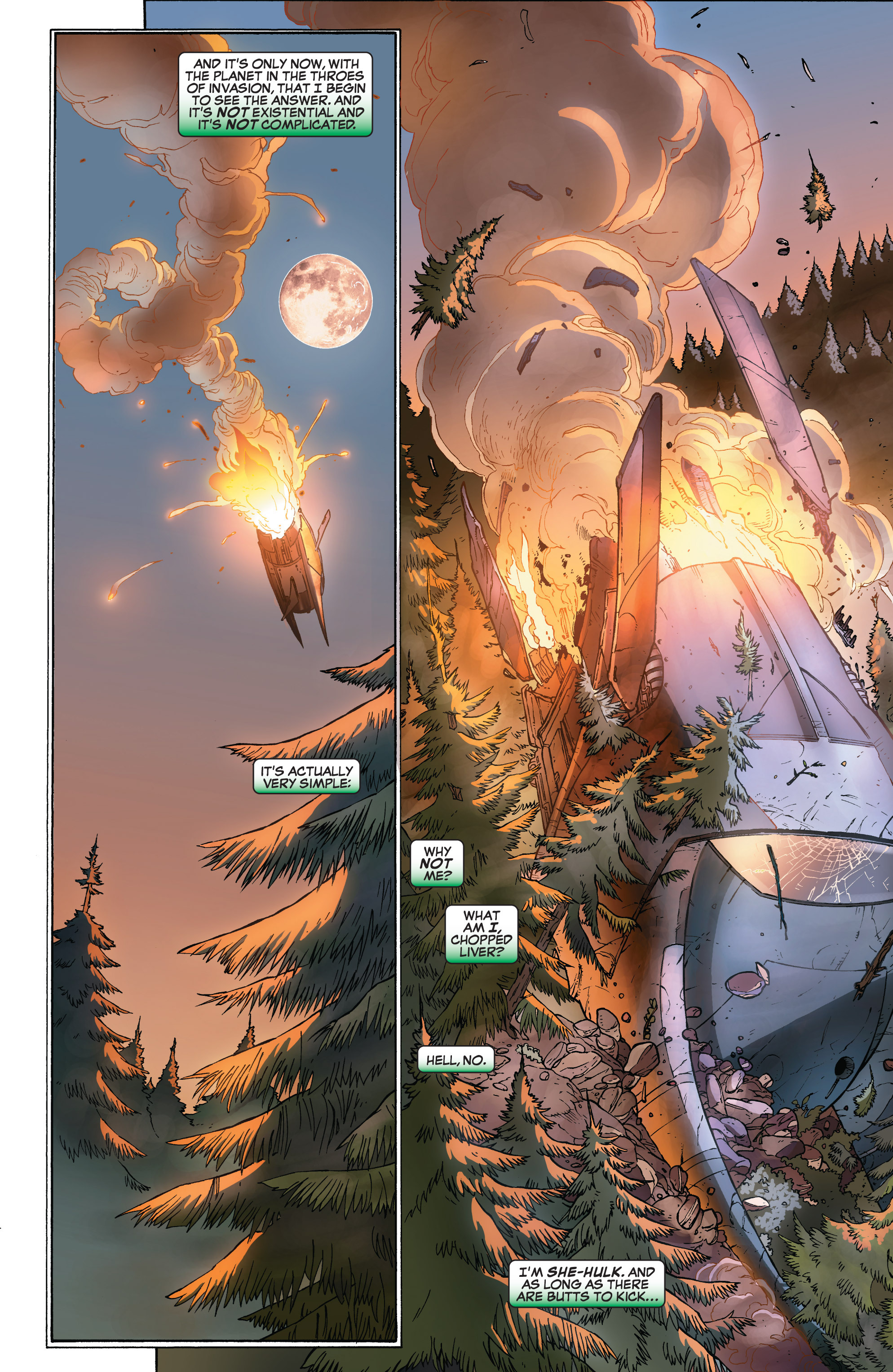 Read online She-Hulk (2005) comic -  Issue #32 - 10