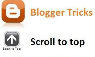 "How To Create ""Scroll to Top"" Button To Blogger"