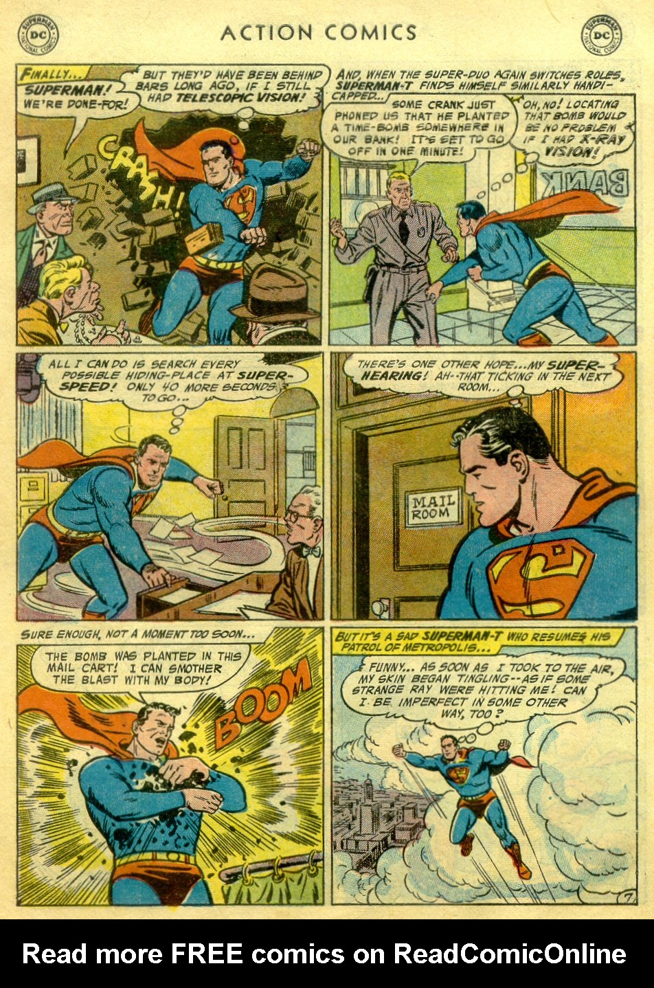 Read online Action Comics (1938) comic -  Issue #222 - 8