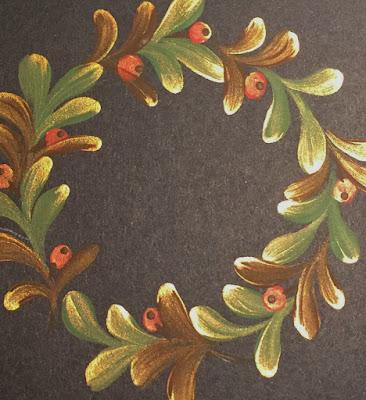 Folk It autumnal wreath