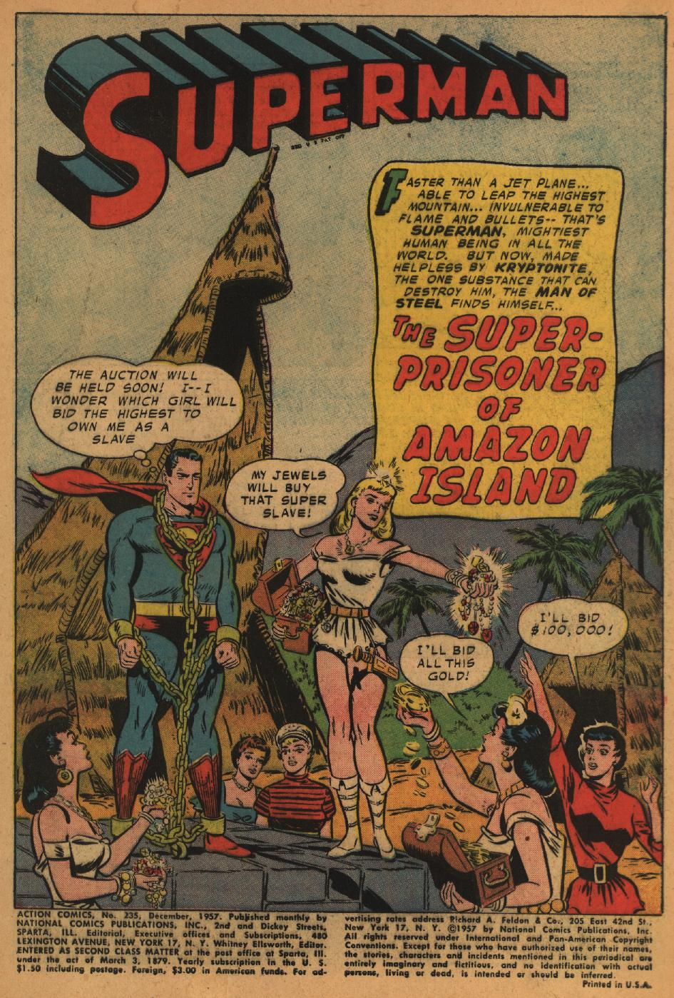 Read online Action Comics (1938) comic -  Issue #235 - 3