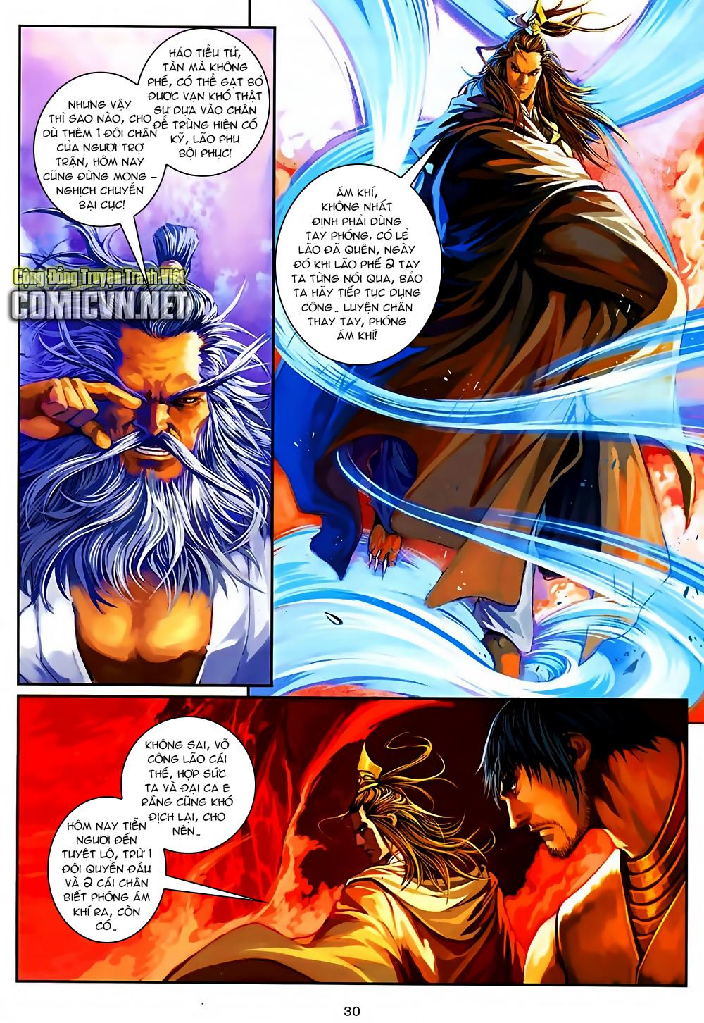 Ôn Thuỵ An Quần Hiệp Truyện Phần 2 chapter 37 trang 29