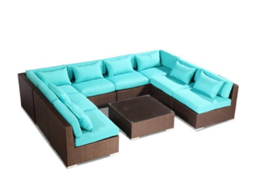 Modify-It Aloha Oahu 9-pc Couch Set, Choosing Outdoor Couch Tips, Outdoor Couch, Outdoor Furniture, Outdoor Space, Outdoor Couch Buying Tips, Outdoor Couch Sets,