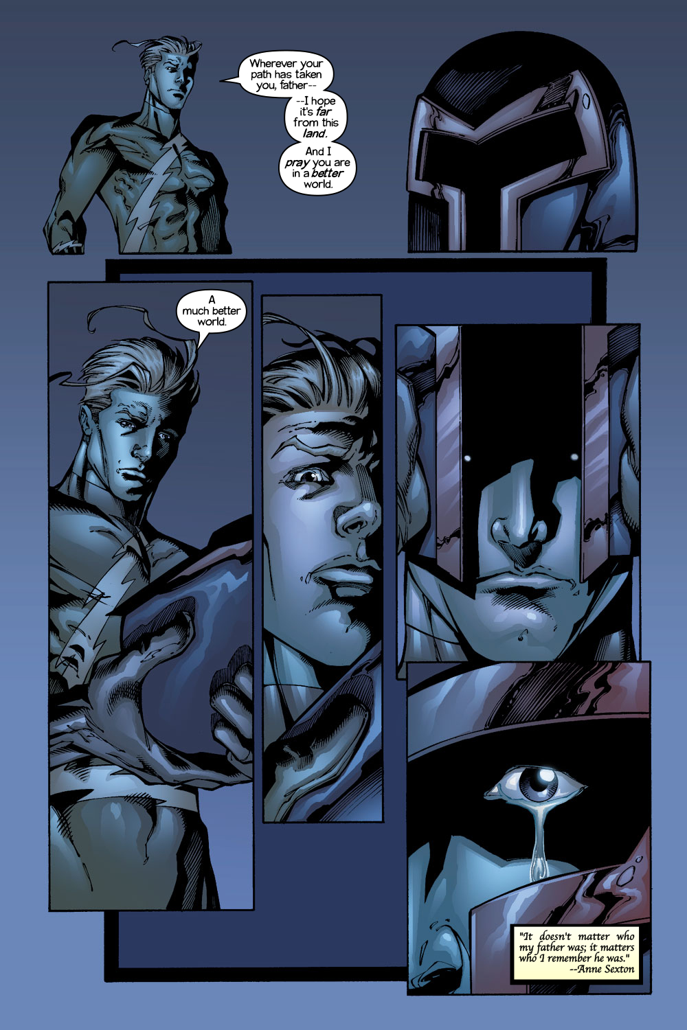 Read online Ultimate X-Men comic -  Issue #1/2 - 16