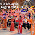 Events in Malaysia for July August