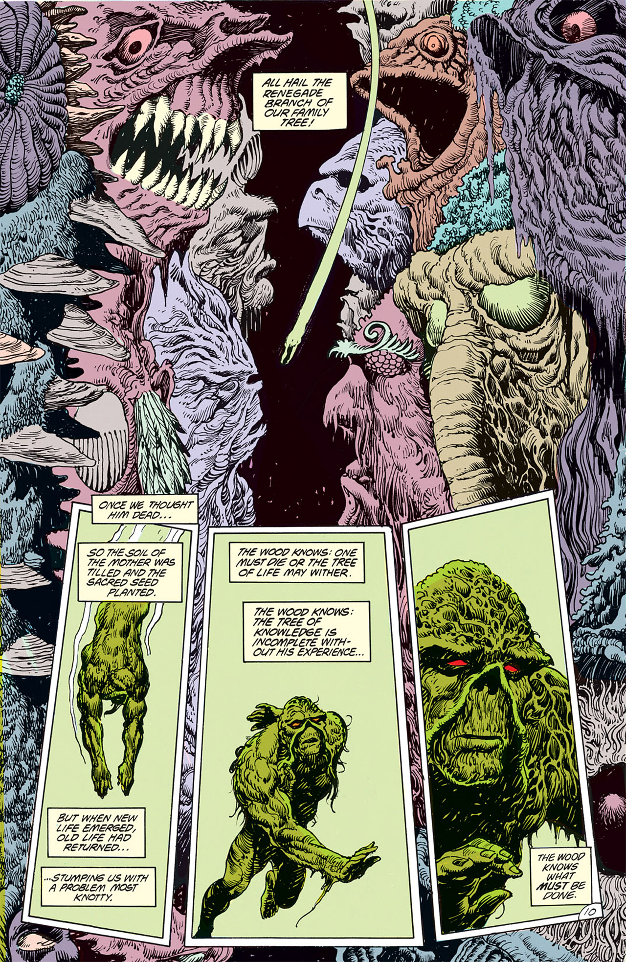 Swamp Thing (1982) Issue #67 #75 - English 12