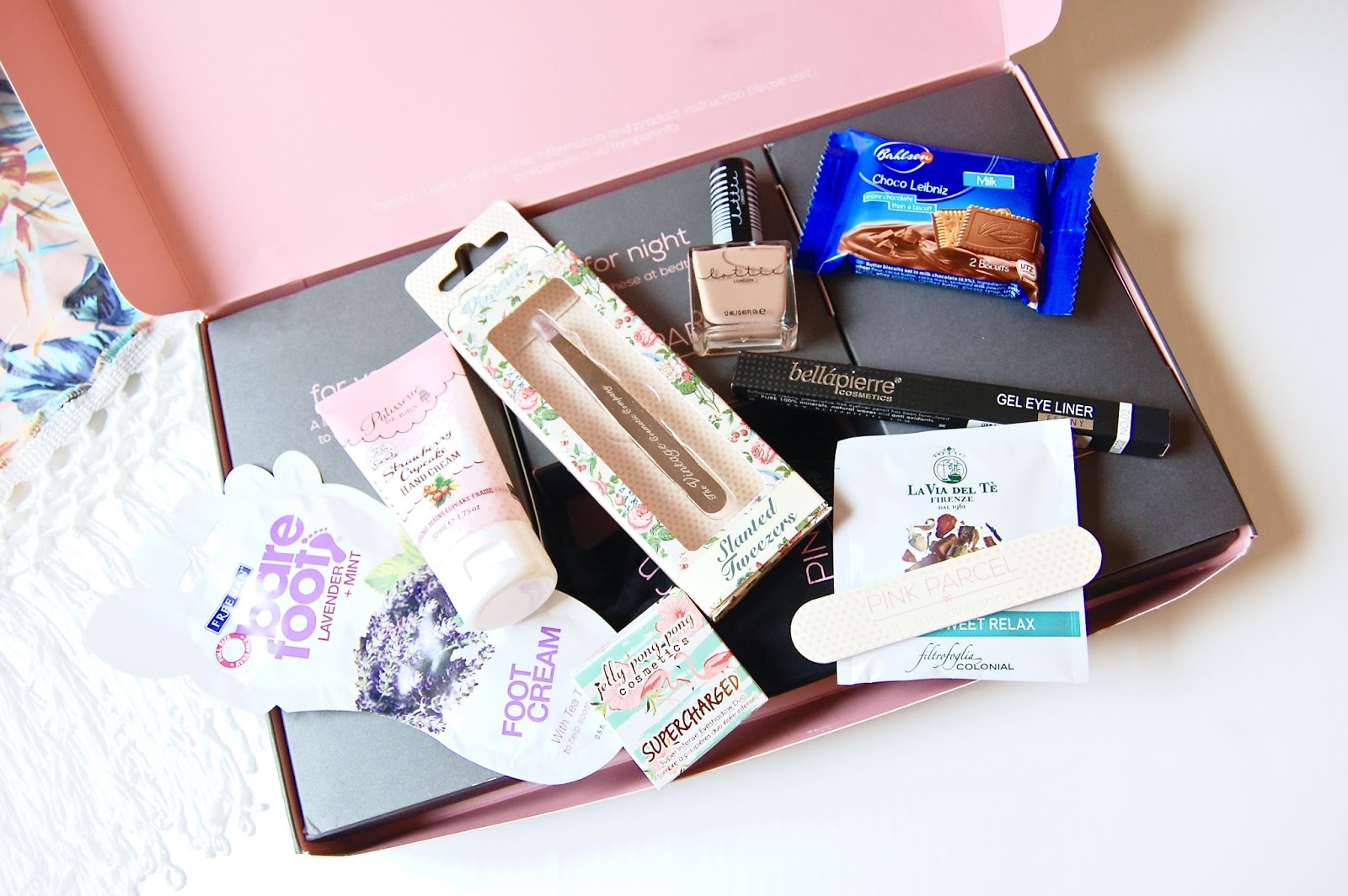 Read my Pink Parcel review here