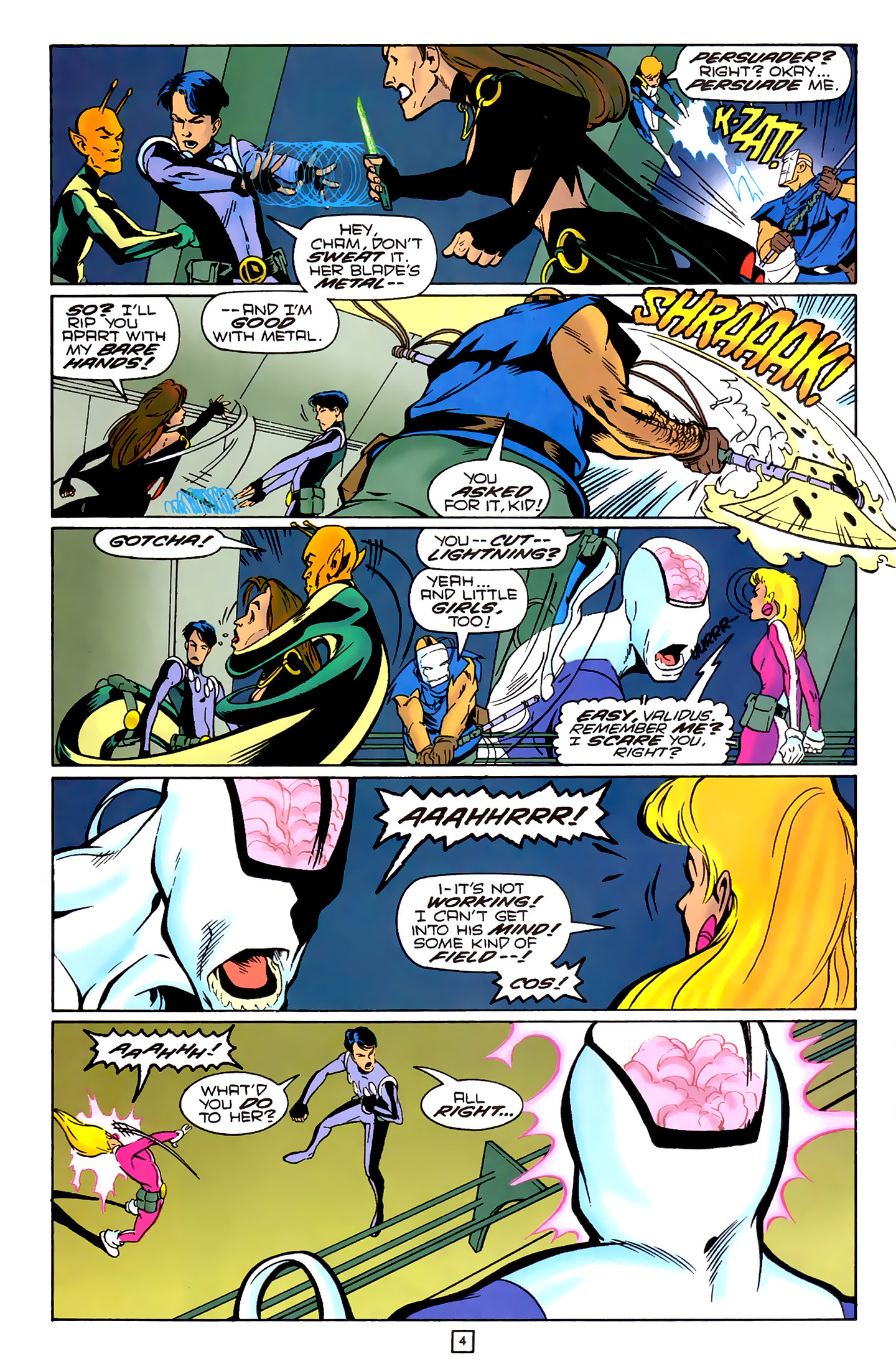 Legion of Super-Heroes (1989) 79 Page 3