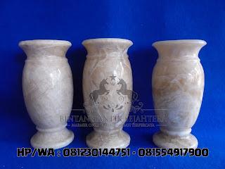 Jual Vas Bunga | Vas Bunga Bahan Onyx | Marmer, Pabrik Vas Bunga dan Guci Tulungagung