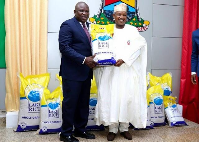 Lagos-Kebbi Rice christened LAKE RICE