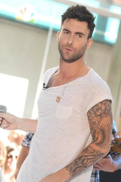 artistmikemiller: adam levine tattoos