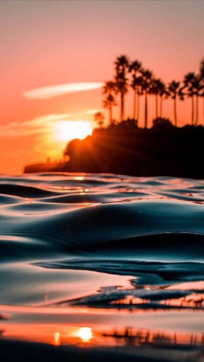 Papel de Parede HD Celular Lindo Pôr do Sol