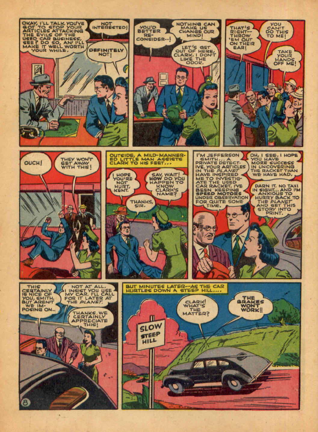 Read online Action Comics (1938) comic -  Issue #48 - 10