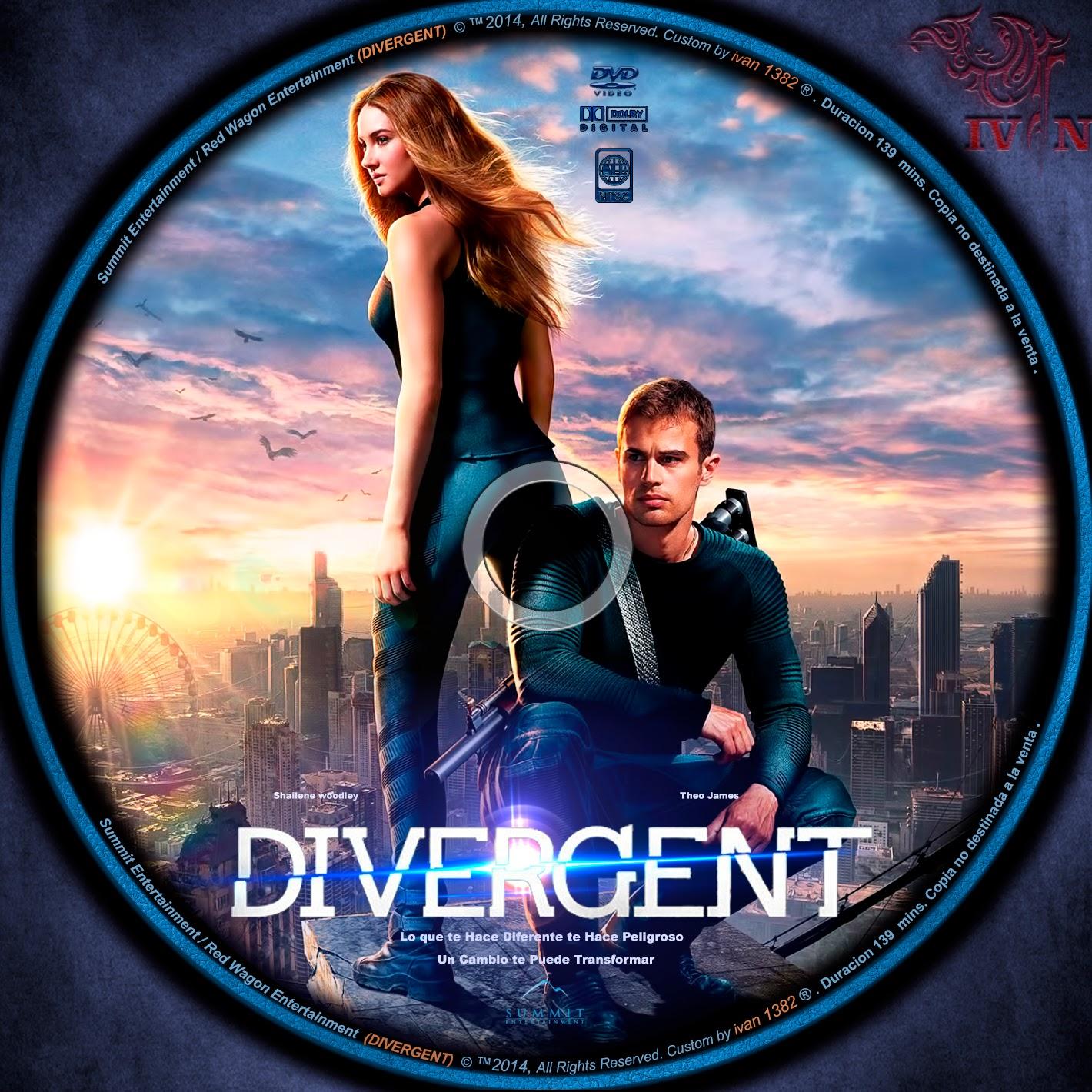 Divergent 2014 DVD COVER - CoverDvdGratis