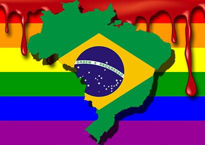 homossexual é assassinado no Brasil