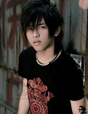image Emo asia teen boy gay watching richie