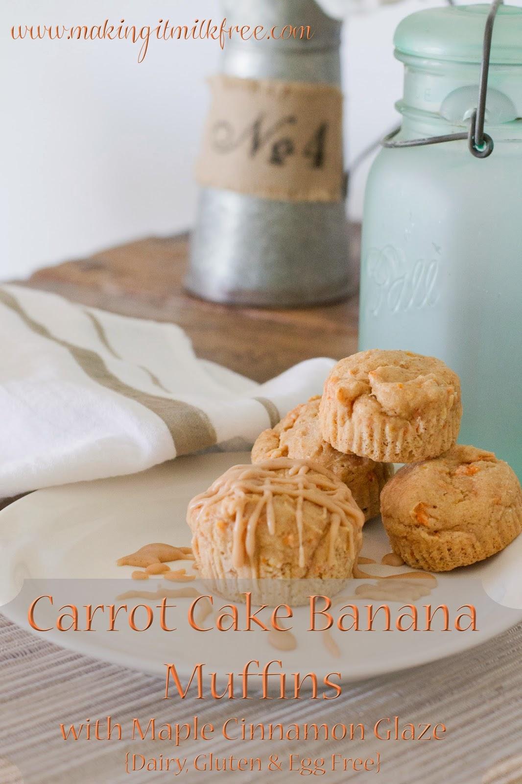 #glutenfree #dairyfree #carrotcake #muffins