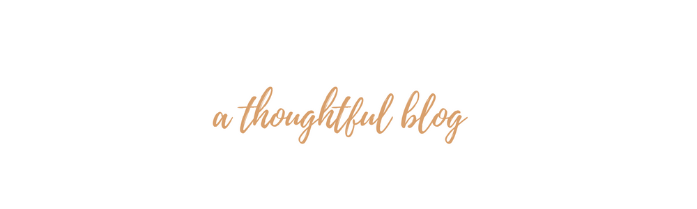 a thoughtful blog