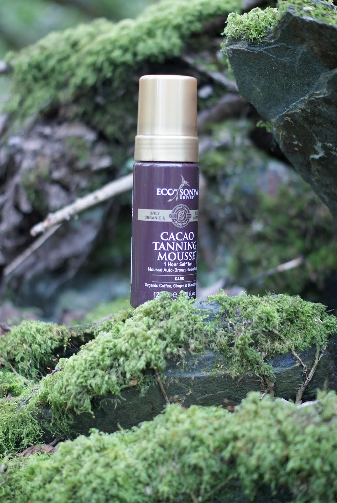 Cacao Tanning Mousse. Naturalny samoopalacz w piance/Eco By Sonya.