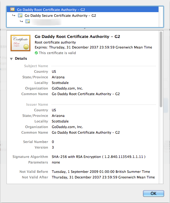 Certificates with SHA-1 and SunCertPathBuilderException