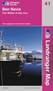 Cover of the Landranger map