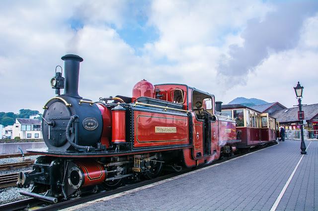 Welsh Highland Railway, Porthmadog