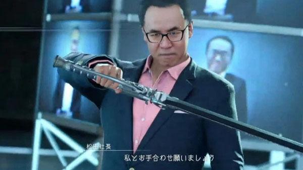 Podremos luchar contra el presidente de Square Enix en Final Fantasy XV