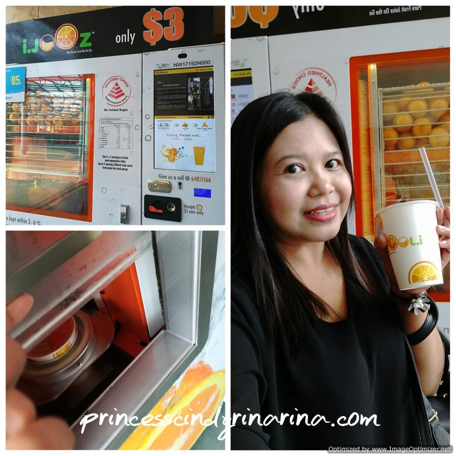 3 Days 2 Nights At Resorts World Sentosa Princess Cindyrina Tiket Adventure Cove Water Park Singapore Anak While Waiting For Typhoon Theatre The Maritime Experiential Museum Ticket And Sea Aquarium To Open 1000am I Tried This Freshly Squeezed Orange Juice