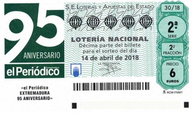 loteria nacional sabado 14 abril 2018