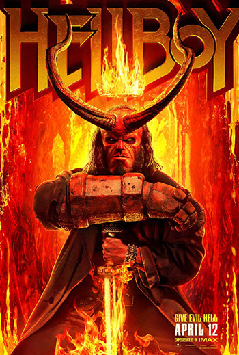 Hellboy 2019 Dual Audio ORG Hindi BluRay Full HD 1080p 4GB DD5.1Ch ESubs poster