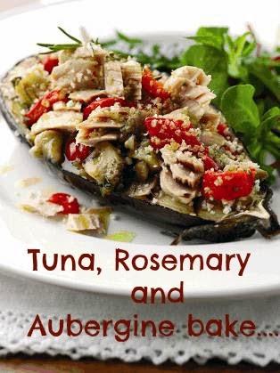 Tuna, Rosemary And Aubergine Bake