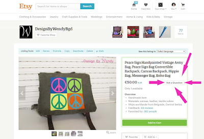 Christmas Shopping Time - Get 10% Discount on Ready To Ship Hand Painted Bags (Part Two)