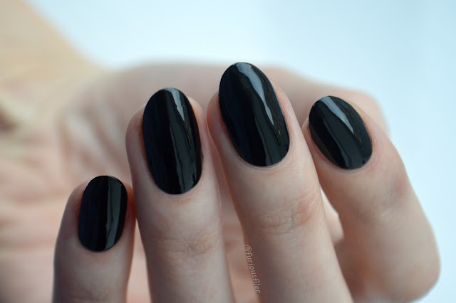 ncla back to black swatch meebox femme fatale review