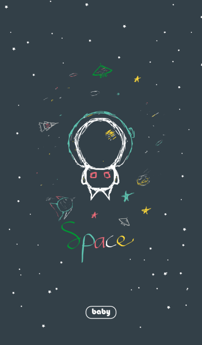 Cute Nate Baby Space