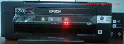 Cara Memperbaiki Printer Epson L210 L220 Berkedip Merah Secara