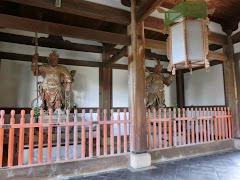 京都:萬福寺四天王