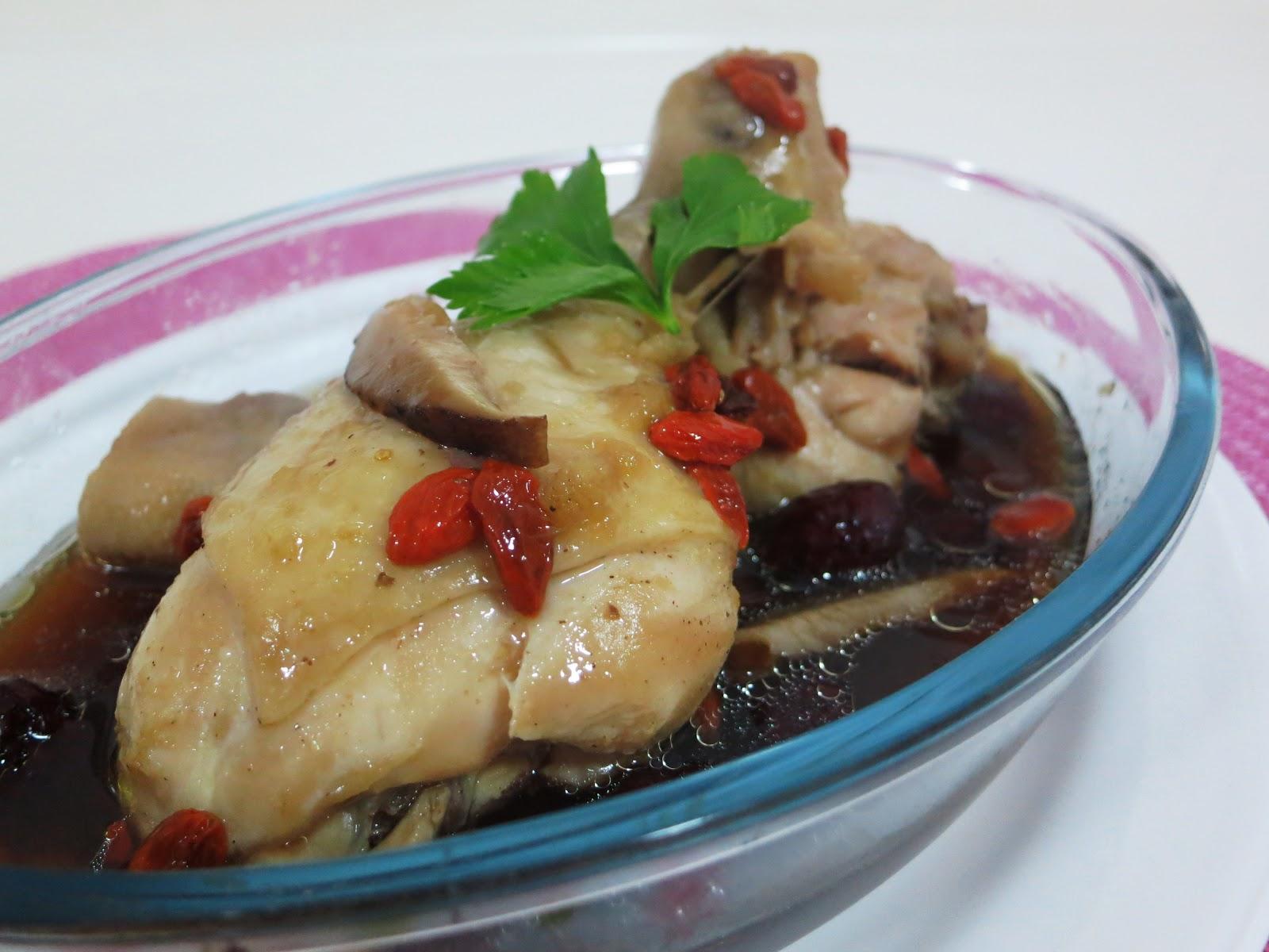 Pinkypiggu Recipe Steamed Drumsticks In Essence Of Chicken