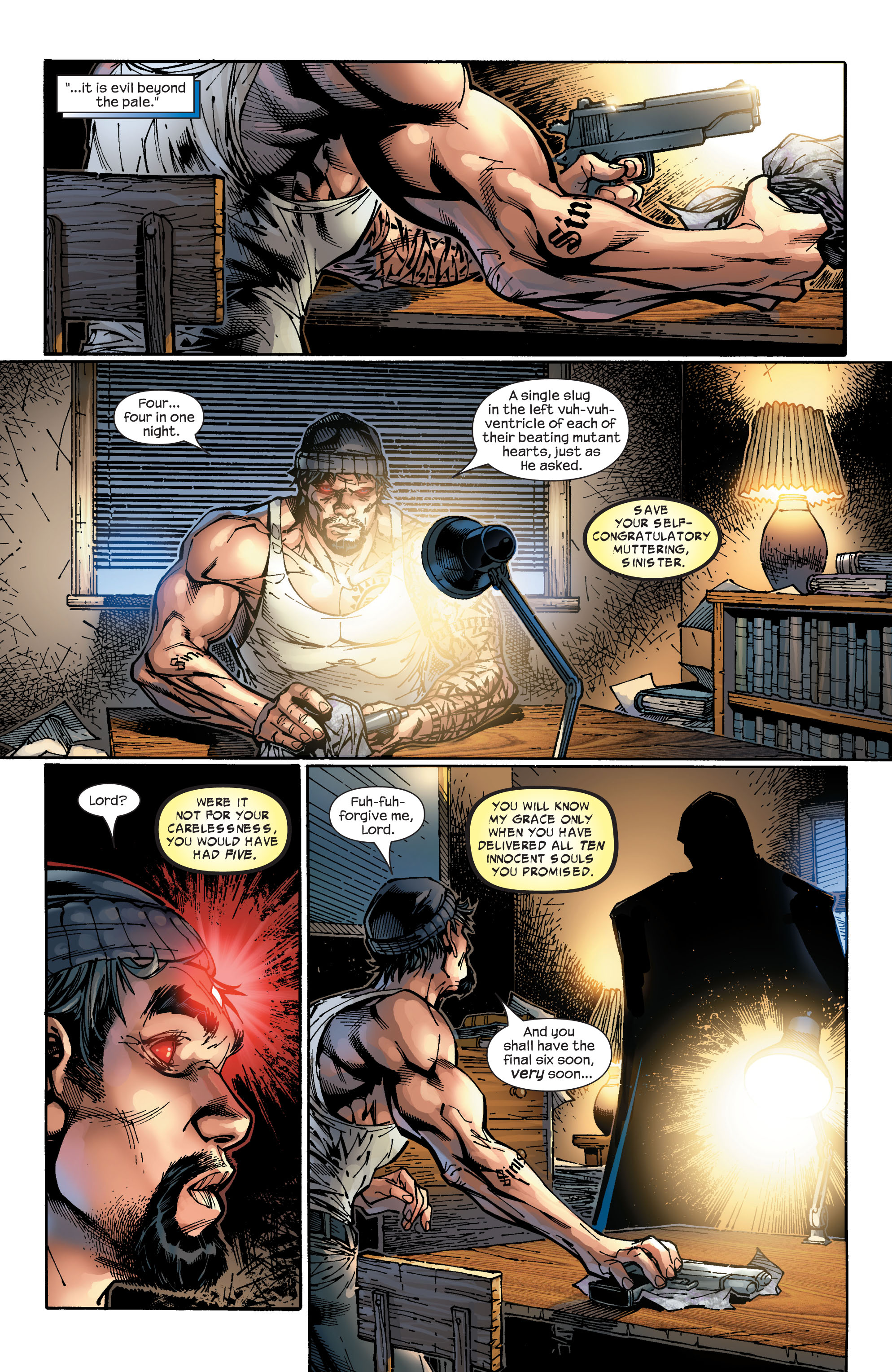 Read online Ultimate X-Men comic -  Issue #47 - 24