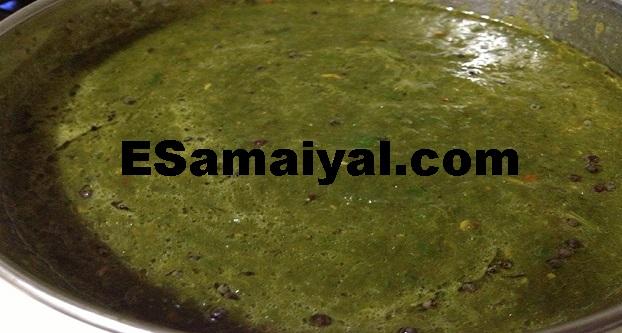 புளியிட்ட கீரை செய்முறை | Puliyitta Spinach !