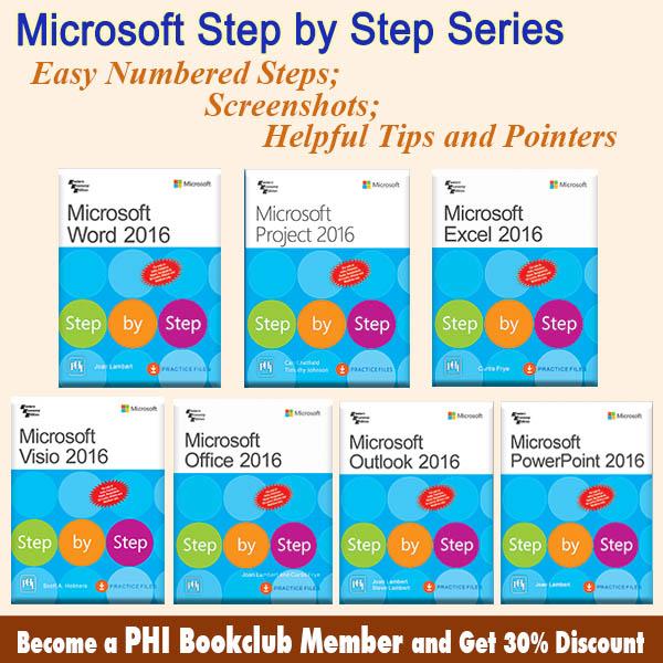 Microsoft Step By Step Series