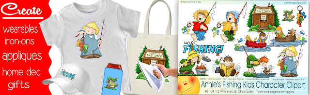 Head on over to Annie Things Possible to see all the Fishing Kids possibilities!
