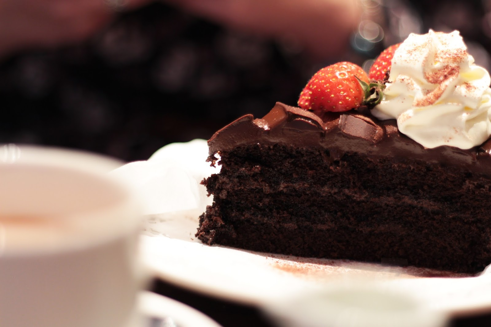 andrews cafe tea rooms sheffield chocolate cake