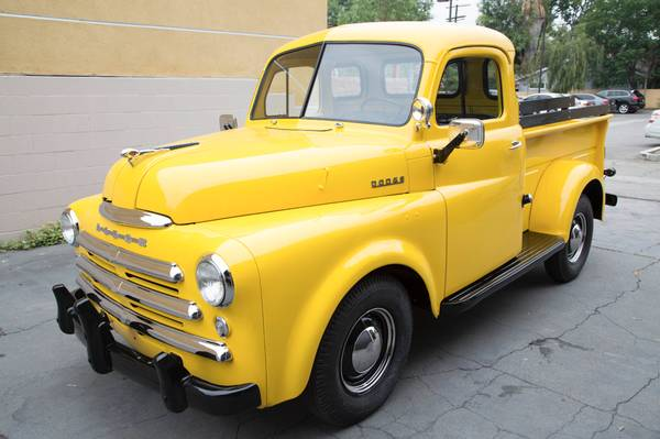 1949 Dodge Pilot House Pickup Truck