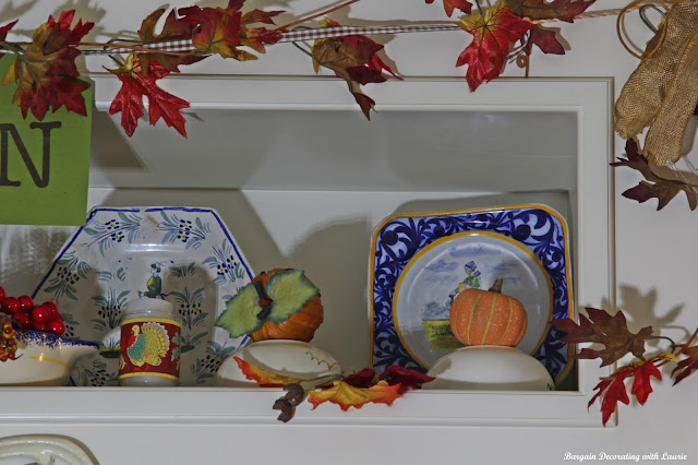 Thanksgiving Decor-Bargain Decorating with Laurie