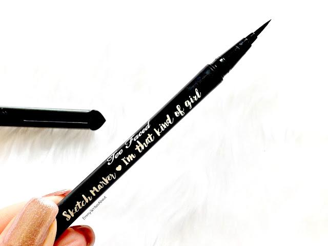 Too Faced Sketch Marker Eyeliner Review