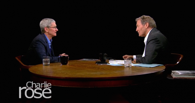 Tim Cook speaks in a interview with Charlie Rose: about Apple TV, Steve Jobs and the purchase of Beats. Apple already planning to make an Apple TV