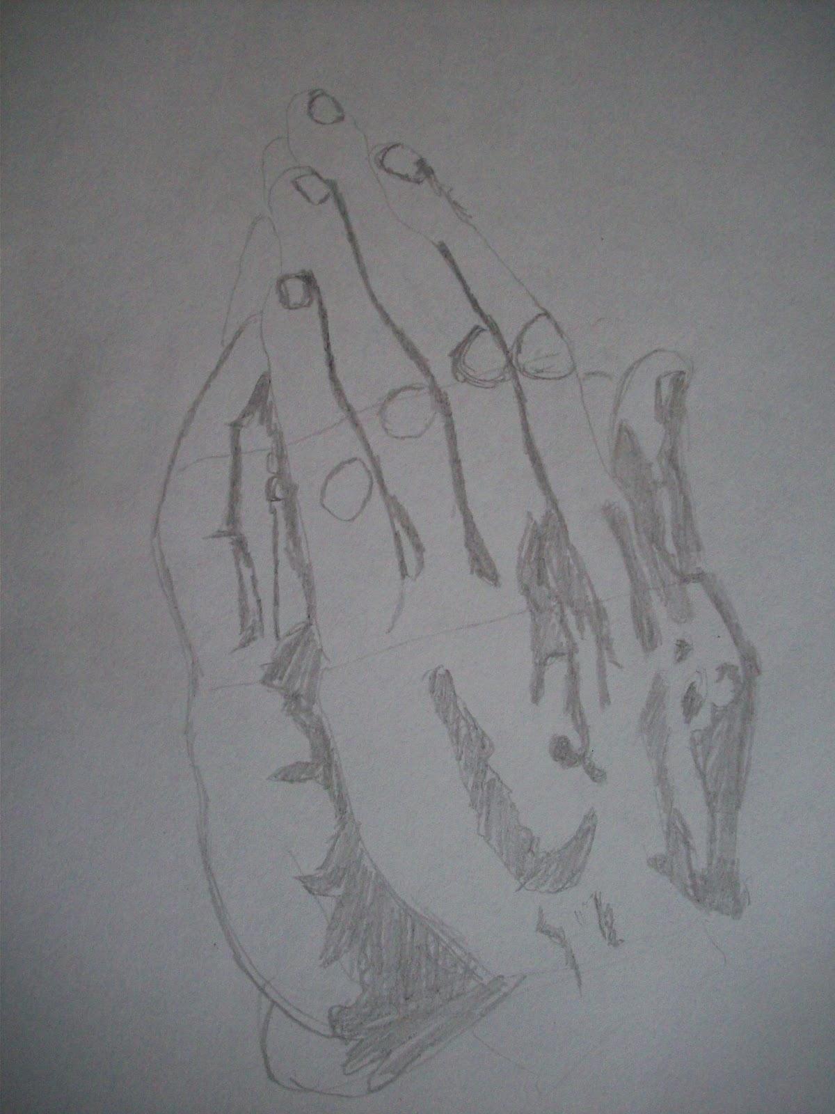 The Art Of Kevin Diehl Praying Hands
