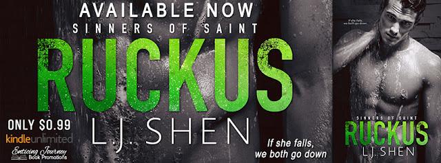 New Release!    Ruckus  by L.J. Shen   ** Trailer **