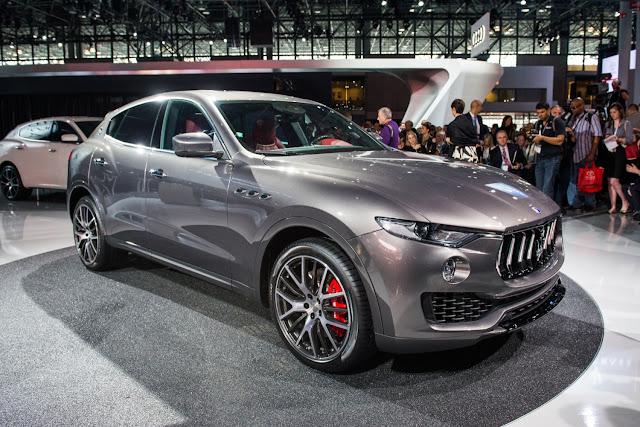 Maserati Levante: convocado para recall - 2016